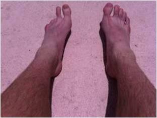 Martin Guptill's toes